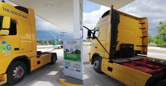 Η πρώτη μετατροπή βαρέως οχήματος που καίει και φυσικό αέριο έγινε στη Θεσσαλία από την CNG THESSALY